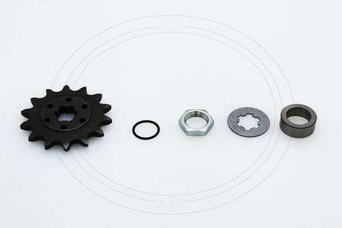 Secondary front sprocket assembly