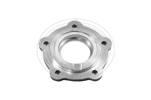 Crankshaft seal cover clutch side