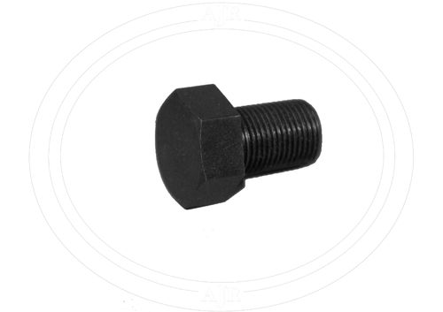 Head cap bolt central hole