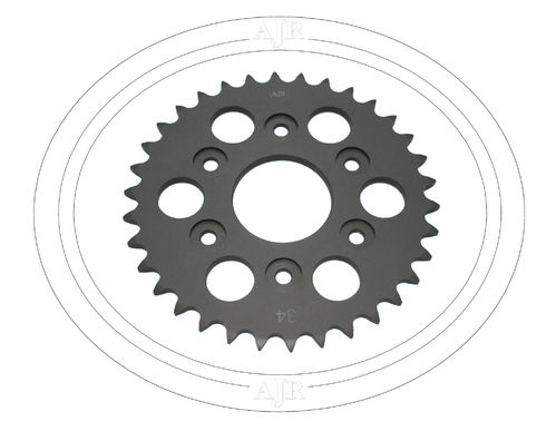 Rear 520 Chain wheel 34T