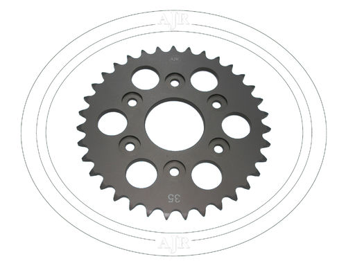 Rear 520 Chain wheel 35T
