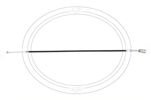 Front Brake cable assy. 677mm